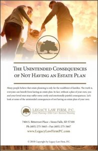 Download Our…Unintended Consequences Of Not Having An Estate Plan Guide For FREE - In Post Pic