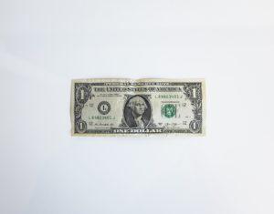 dollar representing an ira