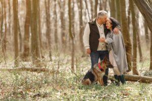 elderly couple thinking about medicare