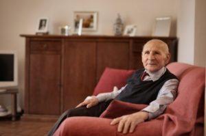 man in nursing home
