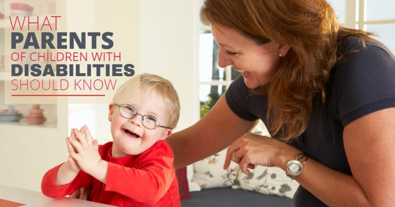 WHAT PARENTS OF CHILDREN WITH DISABILITIES SHOULD KNOW-SanClemente